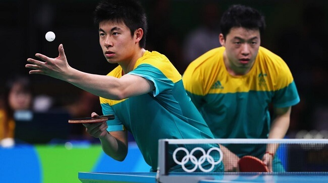 Olympic Rules For Ping Pong