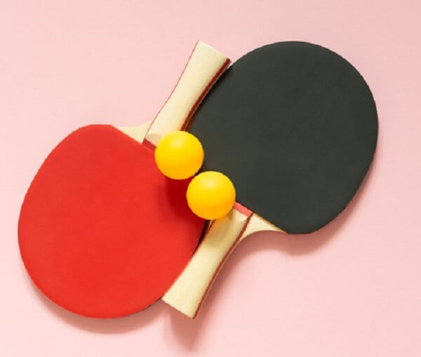 Why Are Ping Pong Paddles Red And Black