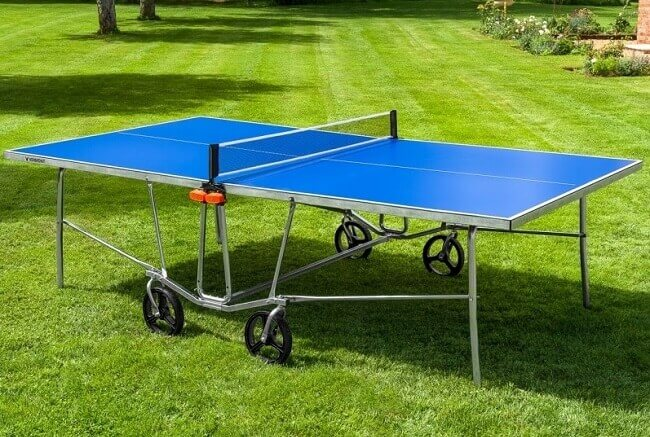 Are Table Tennis Tables Waterproof